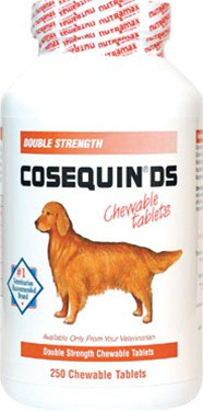 Cosequin for dogs - 250ct Glucosamine Chondroitin Chewable Tablets
