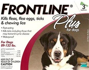 Frontline Flea and Tick Medication for dogs 89-132lbs
