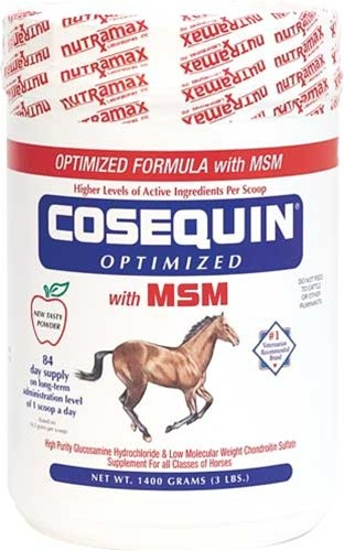 Glucosamine for Horses with MSM - Cosequin by NutraMax Laboratories
