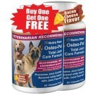 Glucosamine for dogs with Chondroitin MSM & More - Osteo-Pet Total Joint Care Formula in 60ct, 180ct and 720ct Value Size.