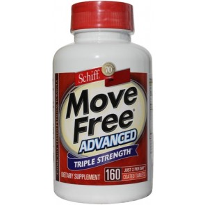 Move Free Advanced Glucosamine Chondroitin, Hyaluronic Acid and Uniflex